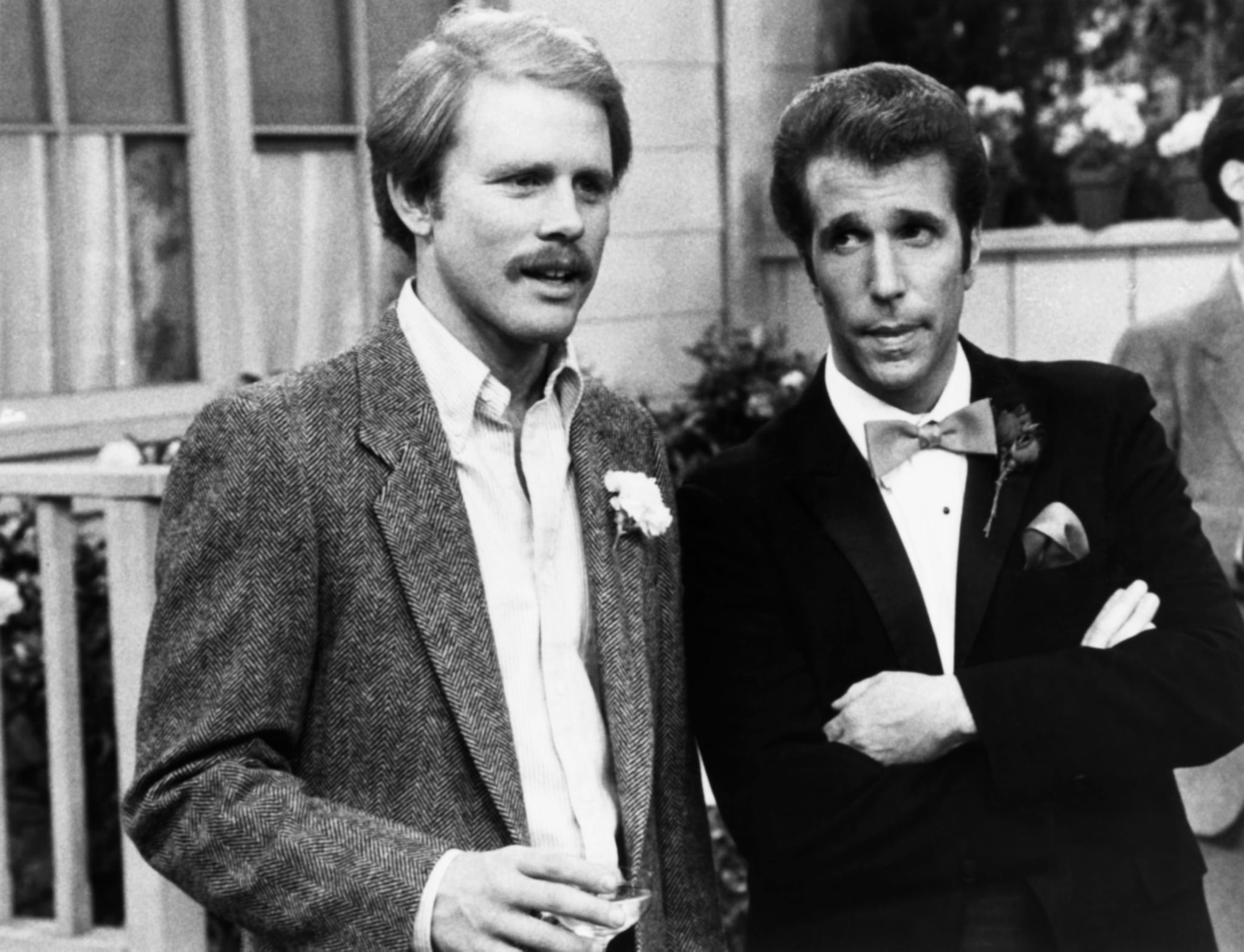 Ron Howard (Left) and Henry Winkler (Right) in Happy Days | Fonzie and  Richie Forever! This Happy Days Reunion at the Emmys Is What We Needed