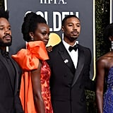 Black Panther Cast at Golden Globes 2019 Photos