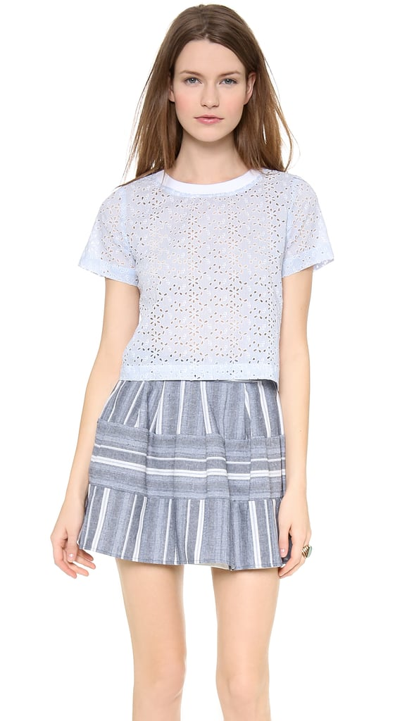 JOA Short-Sleeved Top