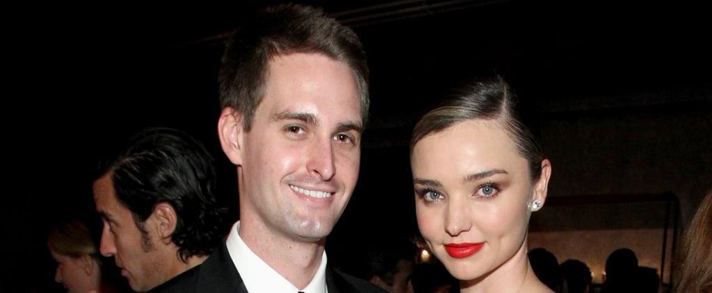 Miranda Kerr and Evan Spiegel Welcome First Child