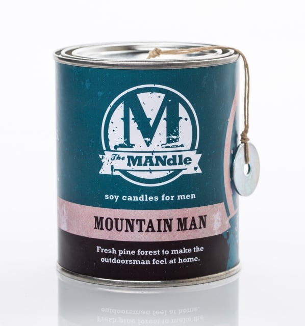 Mountain Man Soy Wax Candle ($19)