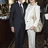 Kate Hudson posed with Richard Buckley at the Goop Summer party.