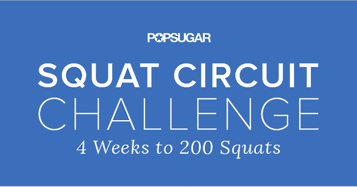 graphic about 30 Day Squat Challenge Printable named Printable Squat Difficulty POPSUGAR Physical fitness