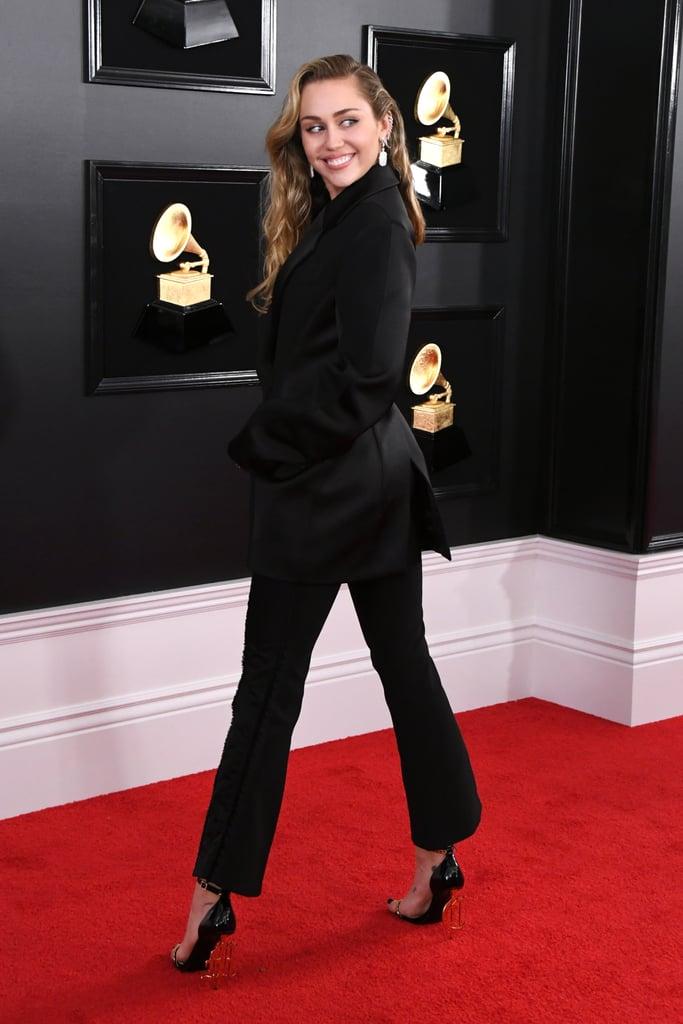 Miley Cyrus Grammys Outfit 2019 Popsugar Fashion Photo 12