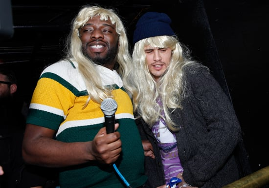Pictures of James Franco at Sundance In a Wig, Rapping, and Dancing