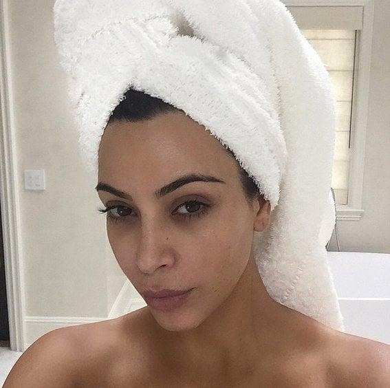 Kardashian No Makeup Selfies