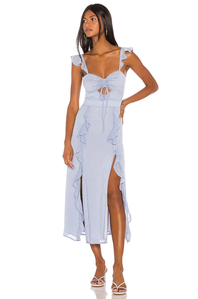 Song of Style Maven Maxi Dress in Sky Blue from Revolve.com