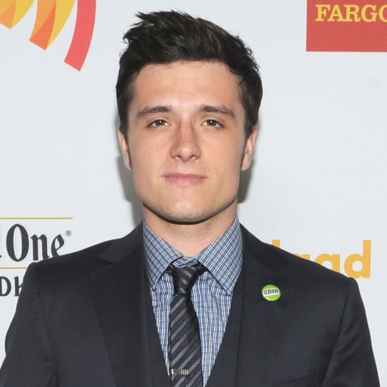 Josh Hutcherson Talks About Catching Fire's New Director Francis Lawrence On The Red Carpet Of The GLAAD Awards