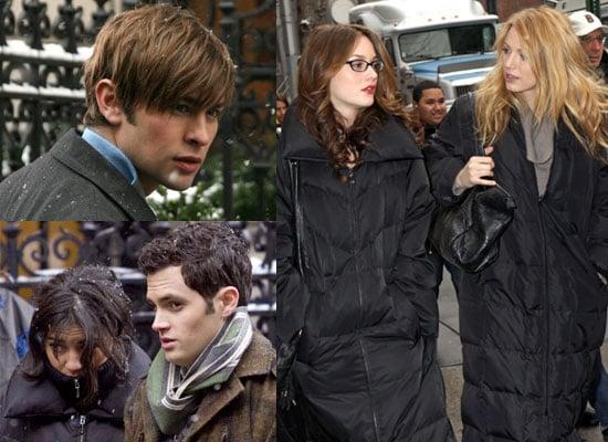 20/01/2009 Gossip Girl Cast Filming