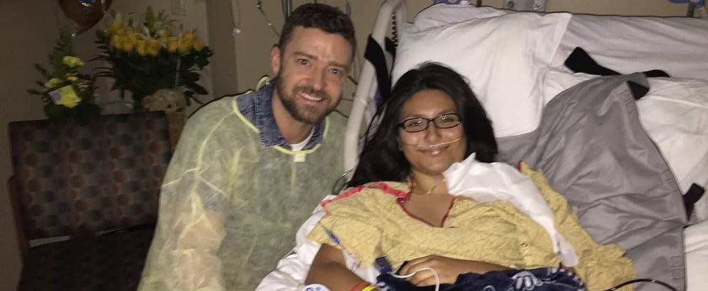 Justin Timberlake Visits Texas School Shooting Victims