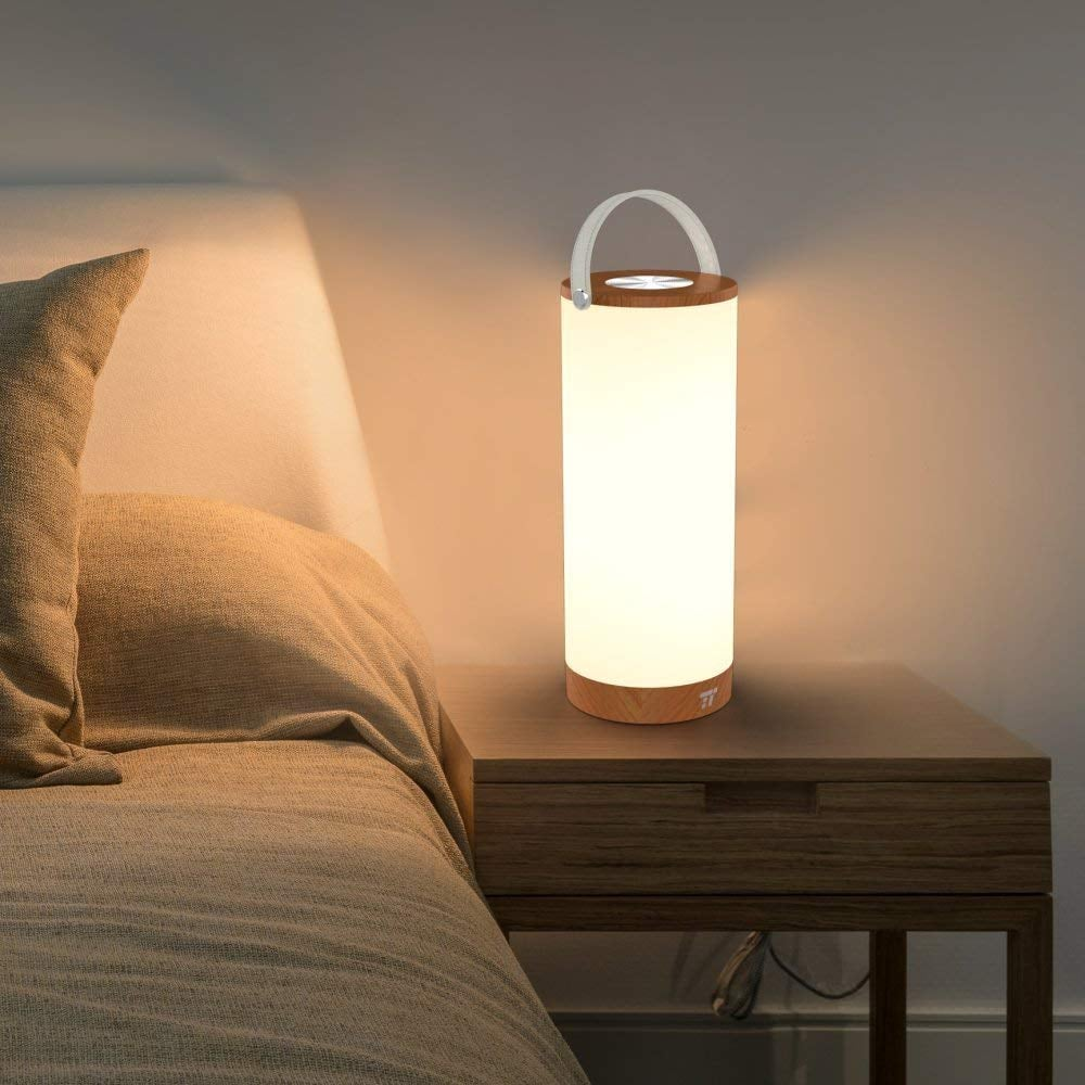 TaoTronics Rechargeable Touch Sensor Bedside Lamp