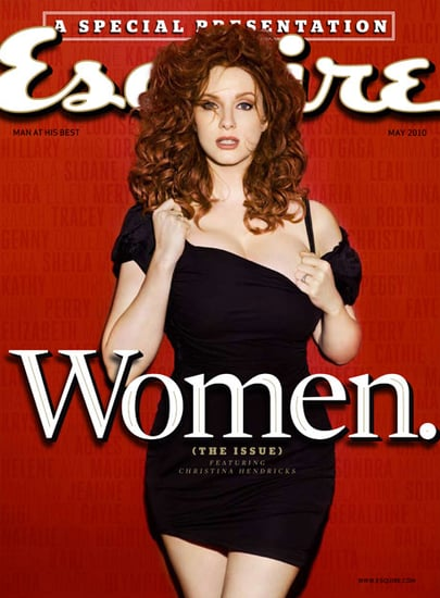 Christina Hendricks Pictures in Esquire