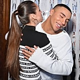 Pictured: Mathilde Gioli and Olivier Rousteing