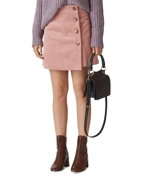 Whistles Corduroy Mini Skirt
