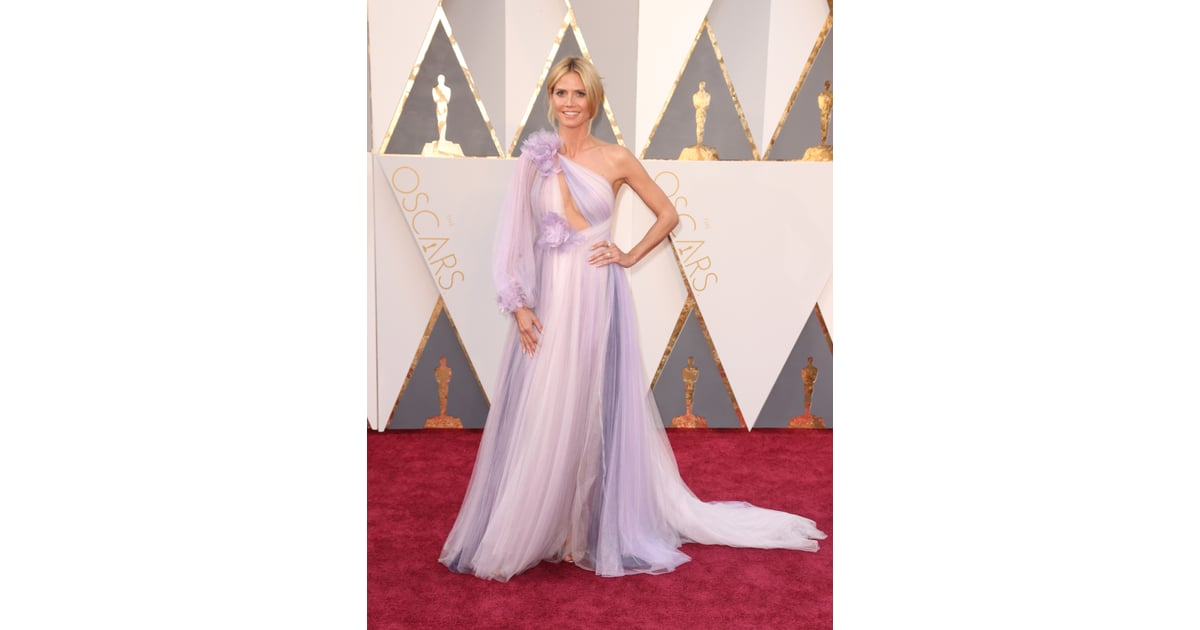 Heidi Klum | 2016 Oscars Red Carpet Dresses