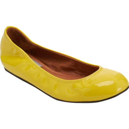 Lanvin's ballet slippers have a massive fan club in the style community. Get your feet into this snappy yellow pair ($199, originally $495), pronto.