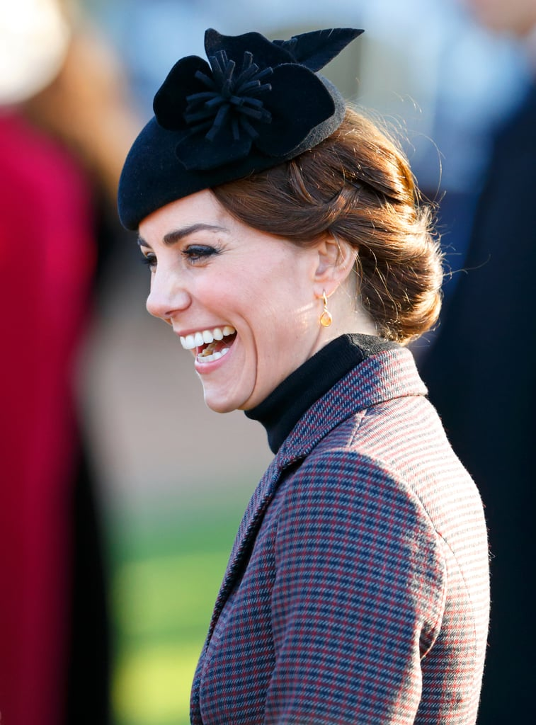 Kate Middleton and Prince William at Church January 2016