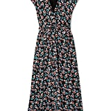 Jason Wu Belted Wrap-Effect Floral-Print Silk-Georgette Midi Dress