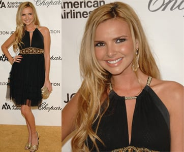 Nadine Coyle From Girls Aloud At Elton John's Oscar Party
