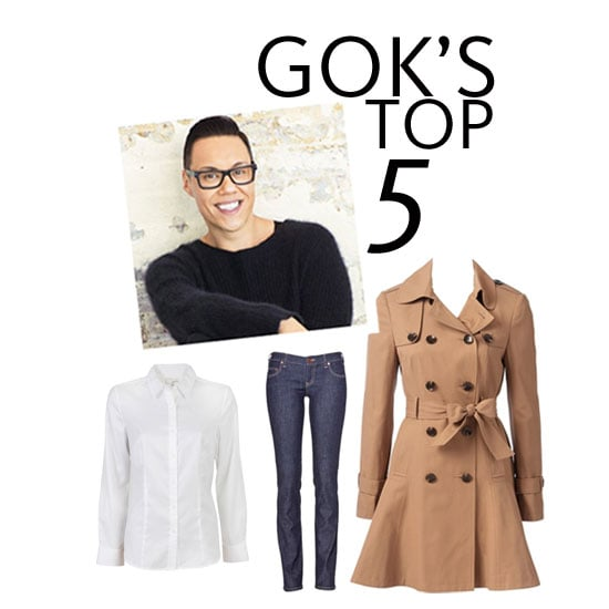 Gok Wan's Top Five Essential Buys for the Classic Wardrobe: Shop the How to Look Good Naked Star's Edit!