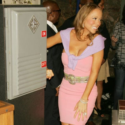 Mariah Carey at the Empire State Building