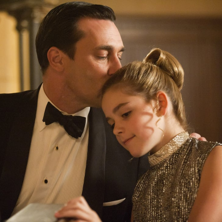 Mad Men Don and Sally\'s Relationship | POPSUGAR Entertainment