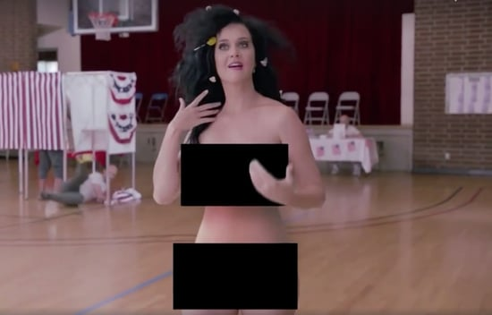 Katy Perry and Madonna Are Getting Naked to Make Us Vote -- Yep, We're Enjoying This