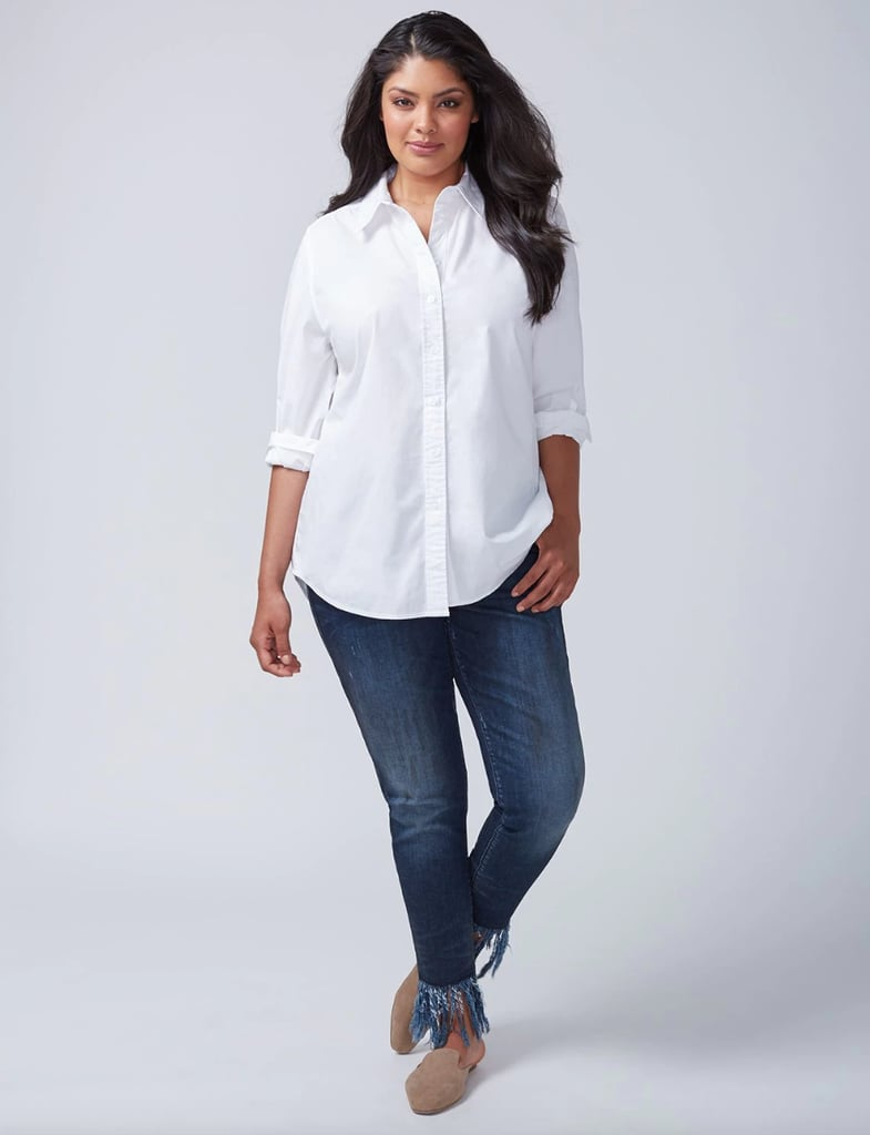 Lane Bryant The Boyfriend Shirt