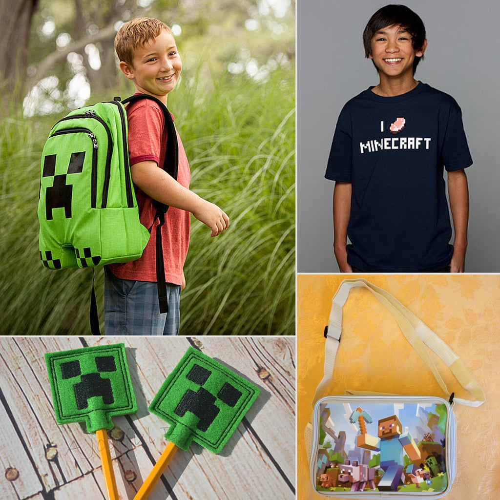 Minecraft School Supplies