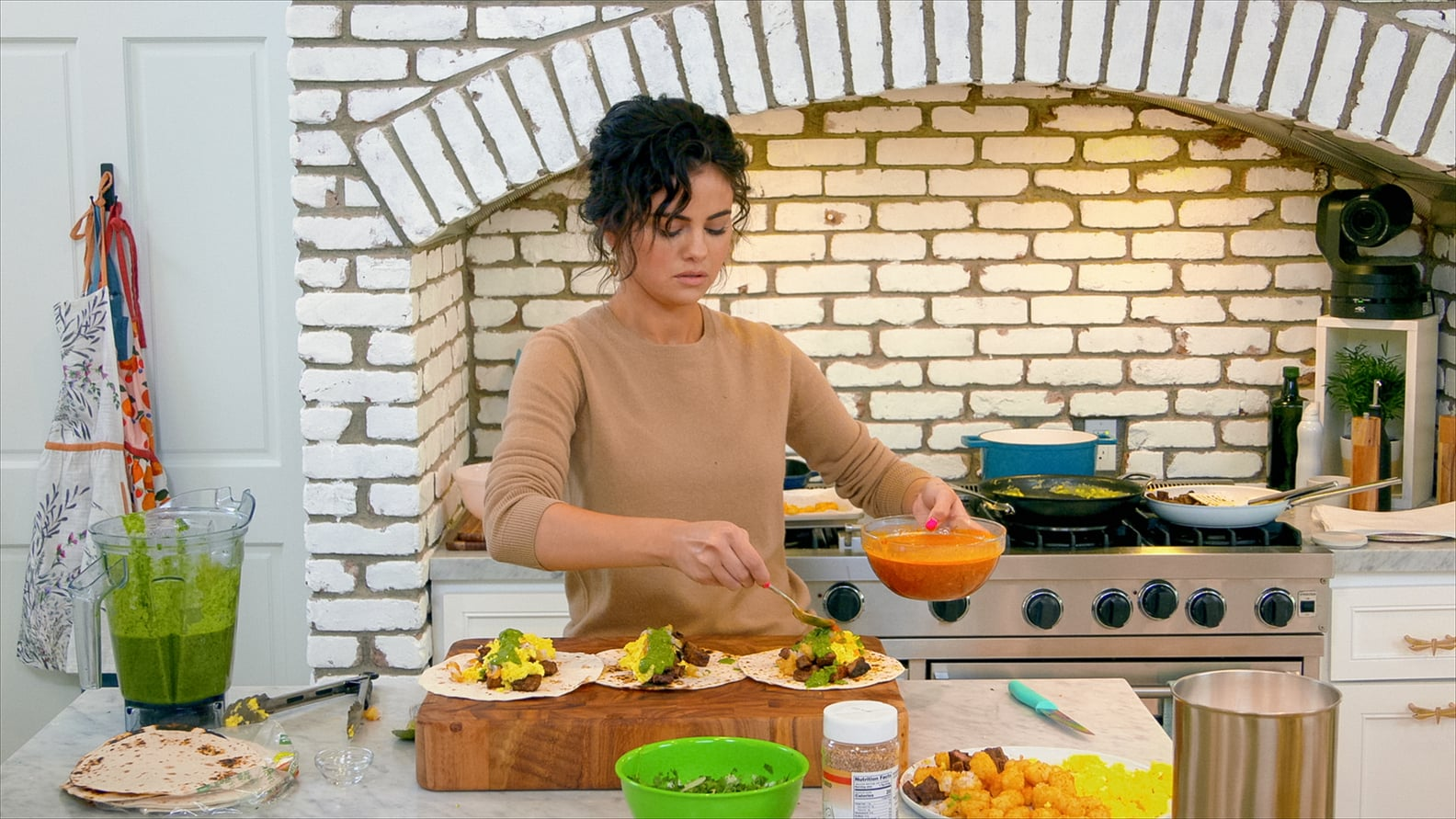 Recipes, Menus, Food & Wine   I've Never Met a Kitchen I've Wanted More Than Selena Gomez's — I Mean, Look at That Stove!   POPSUGAR Food Photo 8