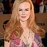 Nicole Kidman With Wavy Hair in 2016