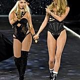 Rita Ora and Behati Prinsloo