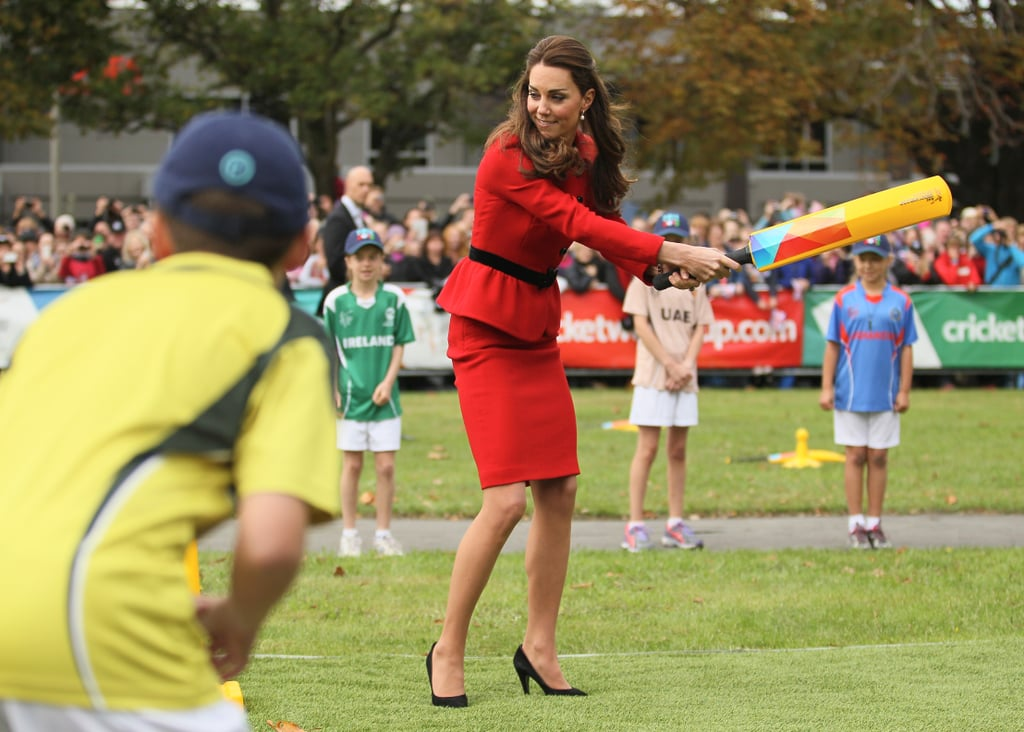 When She Played Cricket With Children in New Zealand