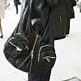 A classic Alexander Wang bag is a downtown girl's best friend.