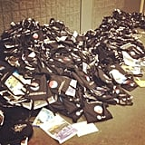 Where press swag bags go to die.