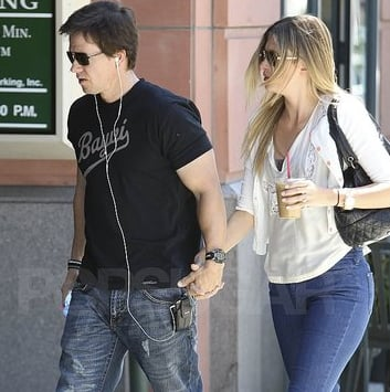 Mark Wahlberg and Rhea Durham Leaving Lunch Pictures
