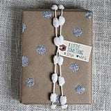 Glitter Polka Dots Gift Wrap