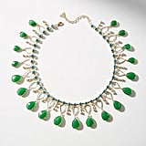 Serefina Teardrop Bib Necklace