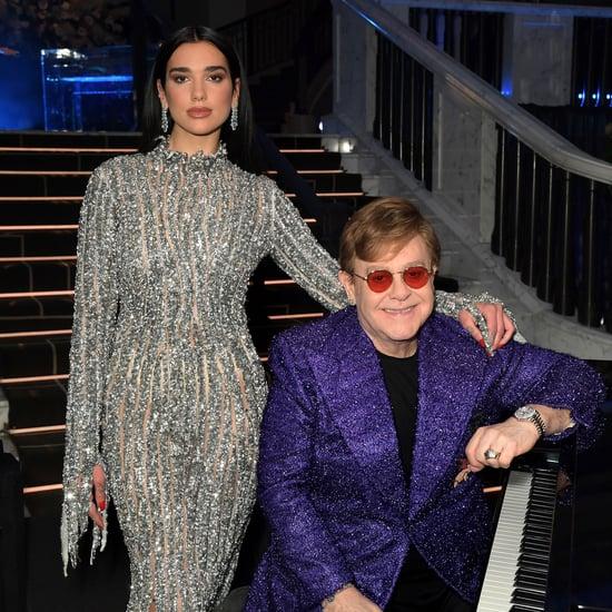 "Dua Lipa and Elton John Team Up on ""Cold Heart"" Dance Track"