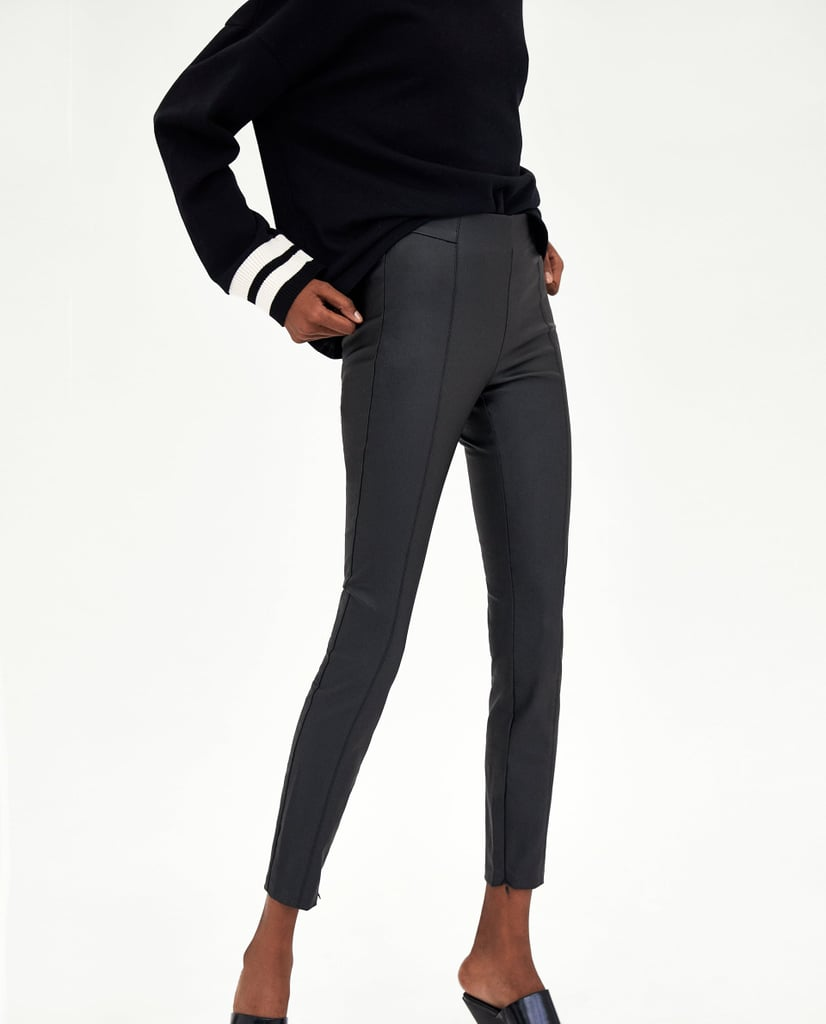 Zara Coated Leggings