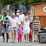 Pictures of Heidi and Seal on Vacation