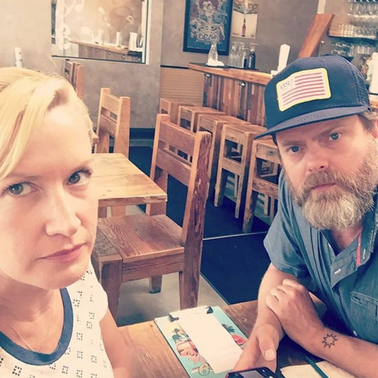 Angela Kinsey and Rainn Wilson's Instagram Picture