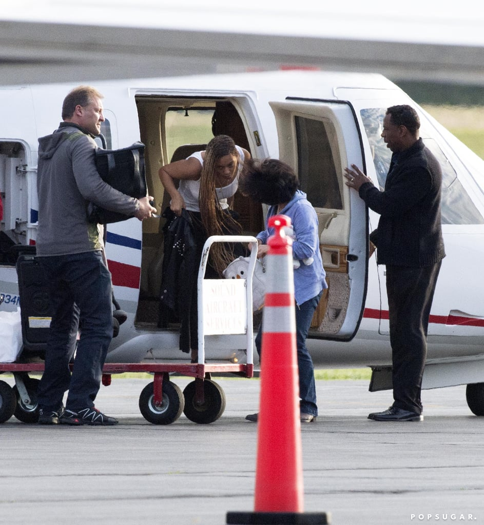 Beyonce and Jay Z Leaving the Hamptons on Memorial Day