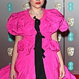 Florence Pugh's Hair and Makeup at the BAFTAs 2020