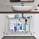 Bextsware Under Sink Shelf Organizer