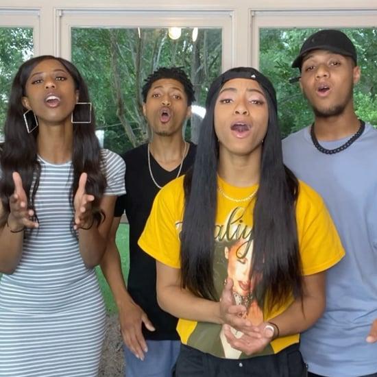 Watch Four Washington's A Cappella Covers on TikTok