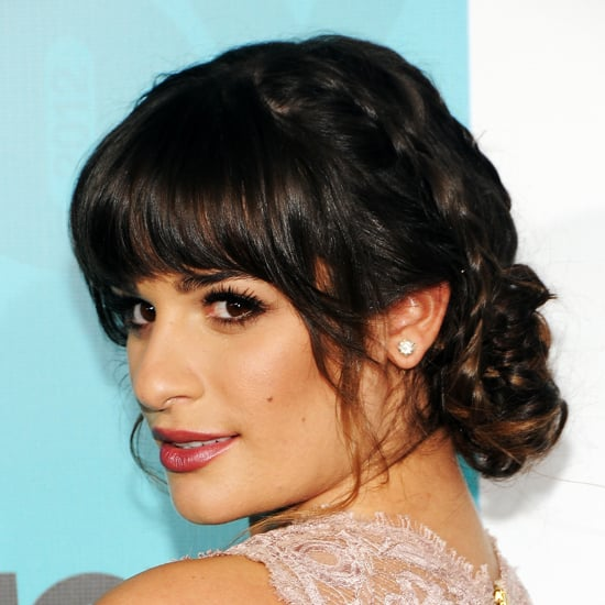 How To Style Blunt Bangs With A Bun Popsugar Beauty