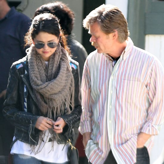 Selena Gomez With William H. Macy in LA | Photos