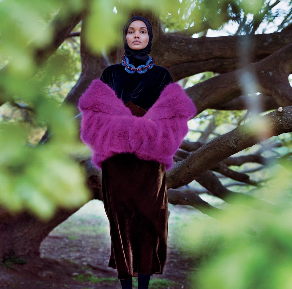 Halima Posed For Her First American Vogue Feature