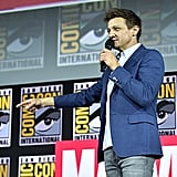 Pictured: Jeremy Renner at San Diego Comic-Con.